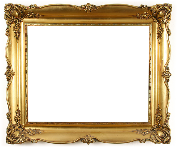 Selfish golden frame