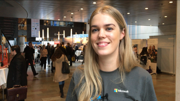 Ida Buhl-Andersen, Partner Development Manager, at Microsoft, is looking for passion and motivation. Foto: Mette Koors