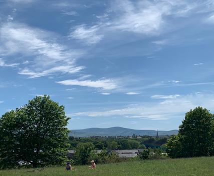hillside outside Dublin