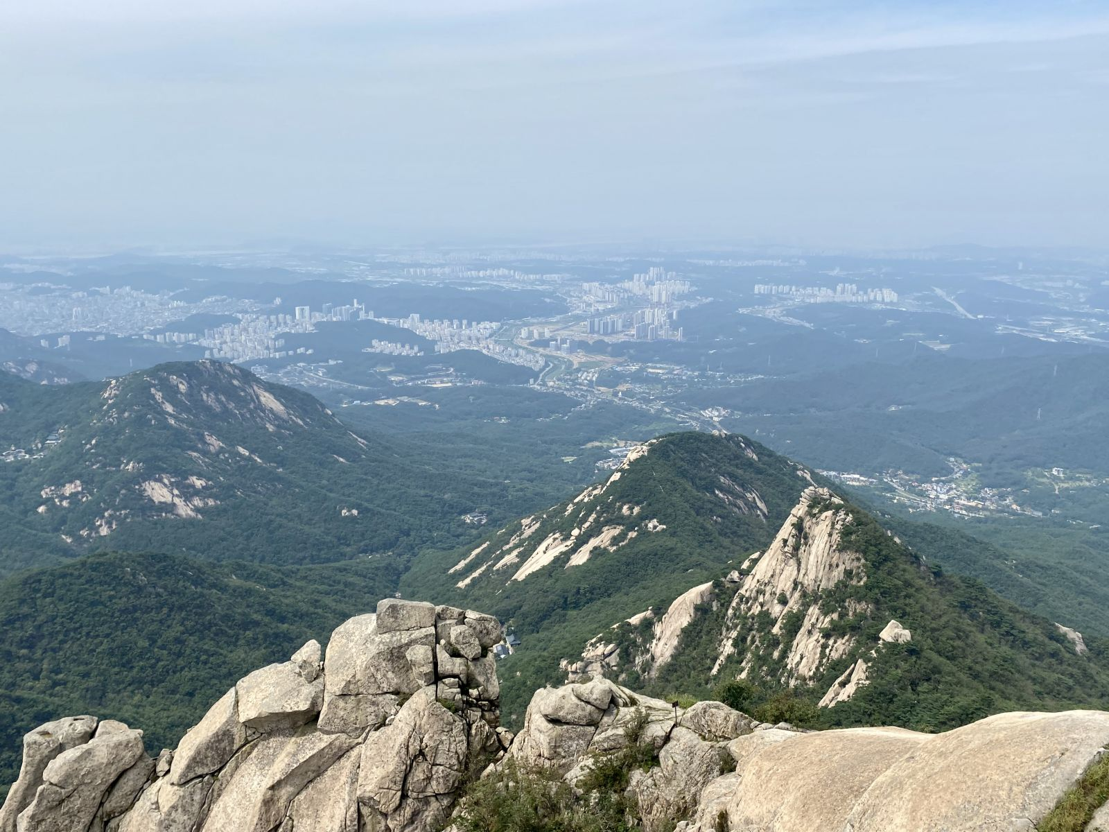 mountain in South Korea