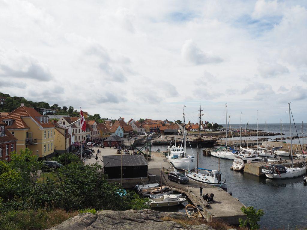 Harbor on Bornholm