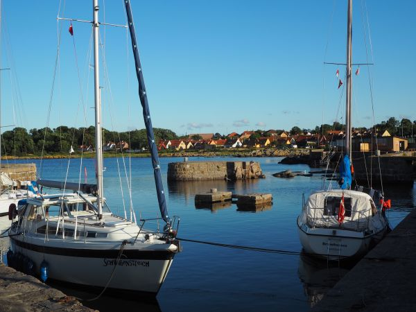 harbor on Bornholm
