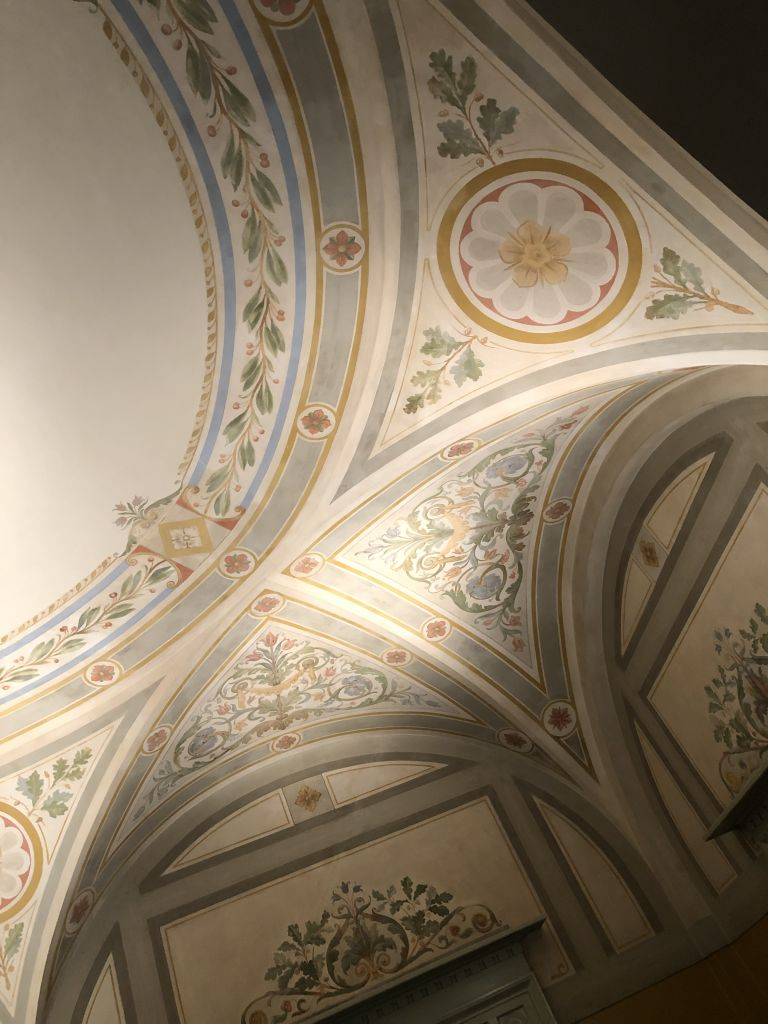 ceiling in museum