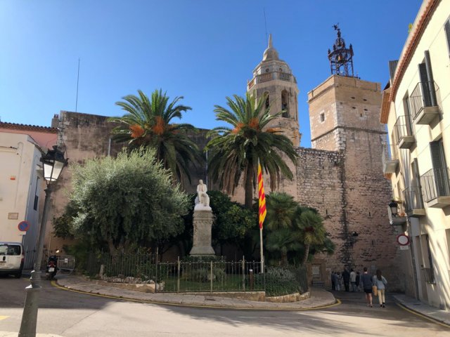 Building in Sitges.