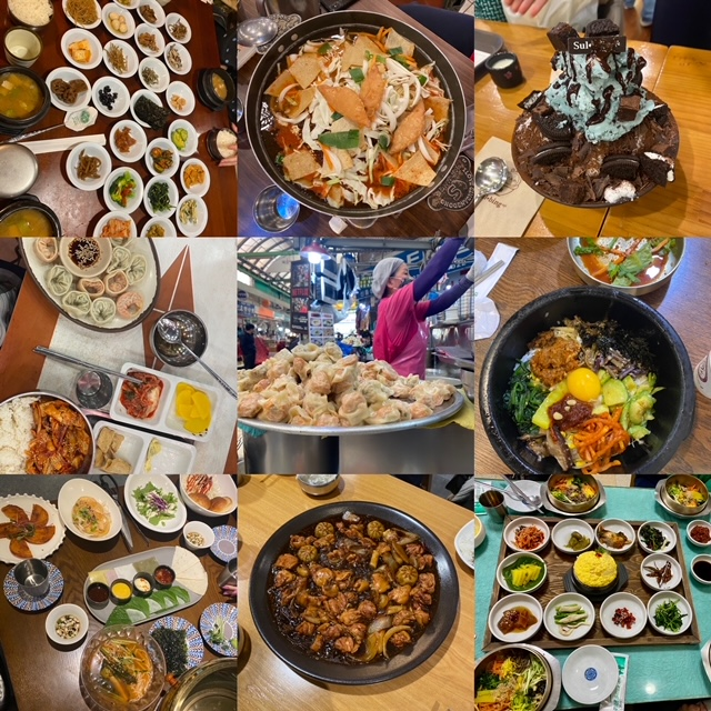 Collage of Asian food