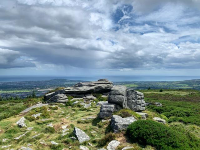 landscape outside Dublin