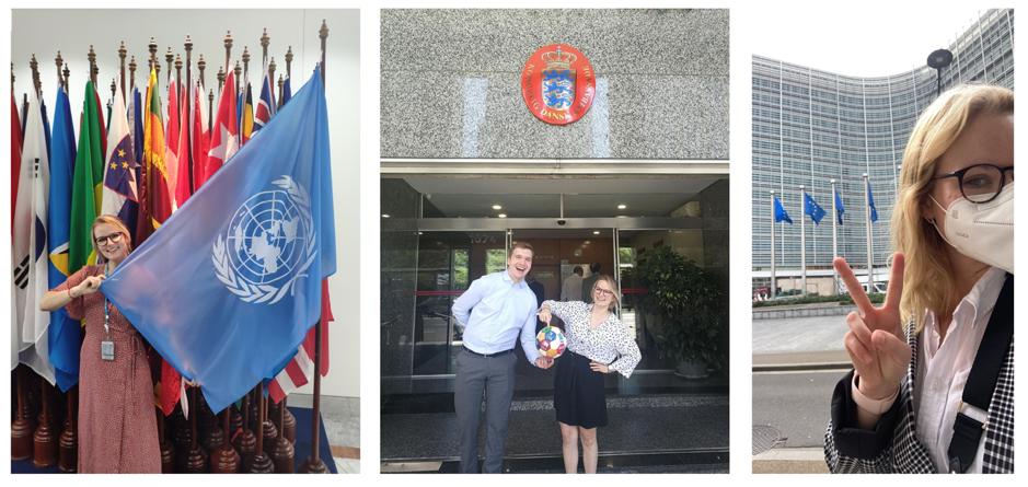 student in UN, Argentina