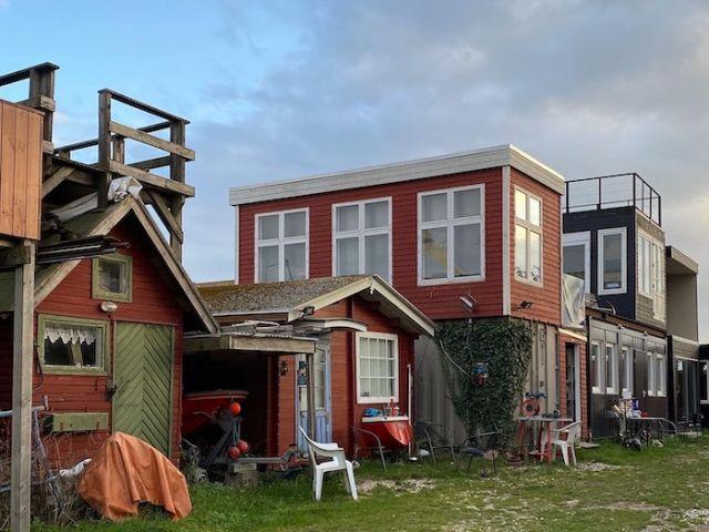 small fischermen's cottages