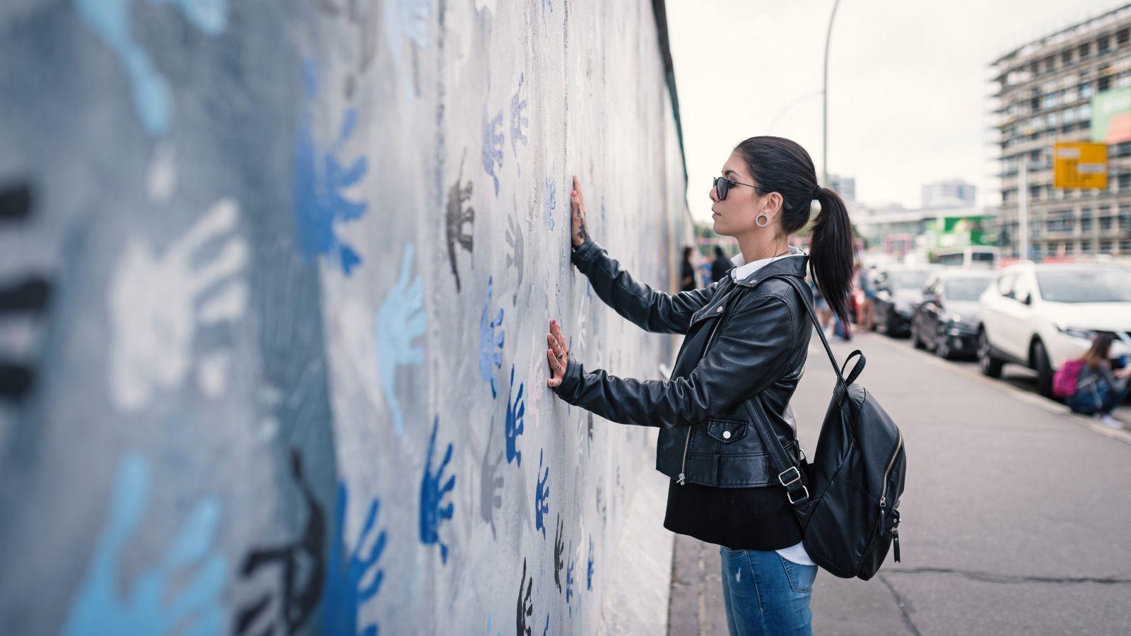 The wall in Berlin